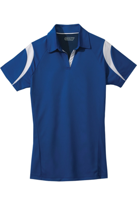 Picture of ECOTEC100 Women Performance polo with contrasting color accent - Free Embroidery